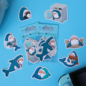 Sharks Sticker Pack