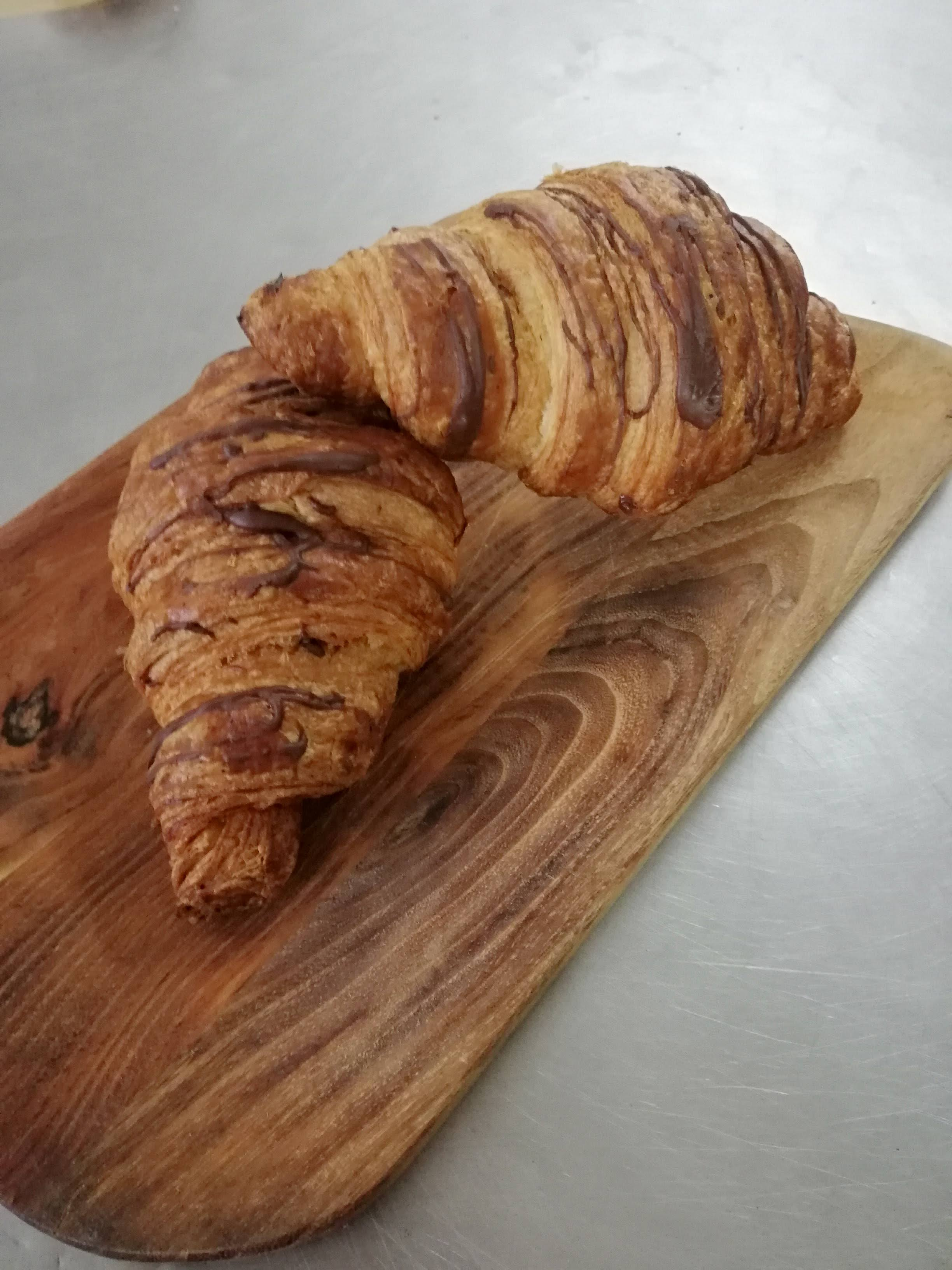 4 Filled Croissants
