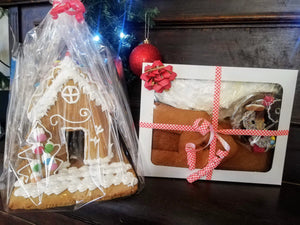 Gingerbread Man House Kit/ Gingerbread Man House