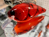 Red Hot Craw 2.5 Squarebill Crankbait