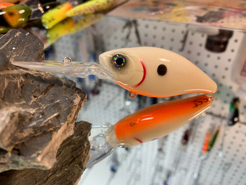 Bone Shad Deep Diving Crankbait