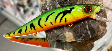 Colorado Fire Tiger Shallow Jerkbait
