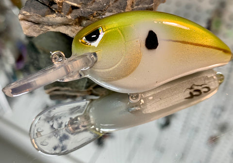 Green Threadfin Shad Shallow Diving Crankbait