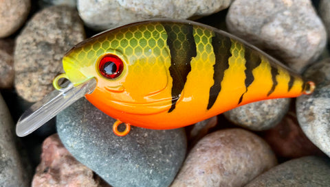 Orange Belly Perch 1.5 Smooth Crankbait