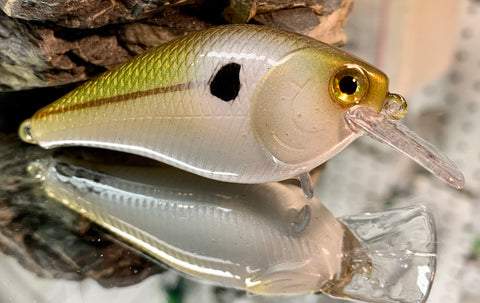 Green Threadfin Shad 1.5 Squarebill Crankbait
