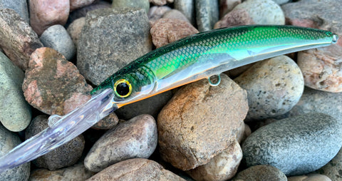 Mint Shad Holographic Deep Trolling Lure
