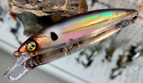 Blue Threadfin Shad Shallow Holographic Jerkbait