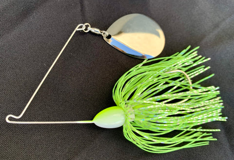 Ghost Chartreuse Spinnerbait