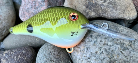 Tennessee Shad 6 Medium Diving Crankbait