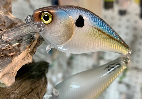 Blue Threadfin Shad 1.5 Squarebill Crankbait