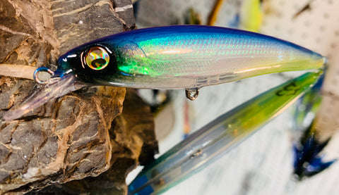 Ghost Electric Shad Holographic Shallow Jerkbait