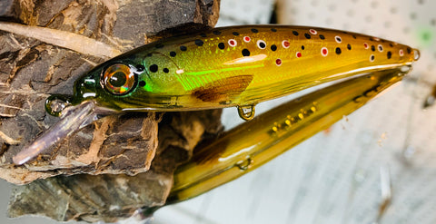 Brown Trout Holographic Shallow Jerkbait