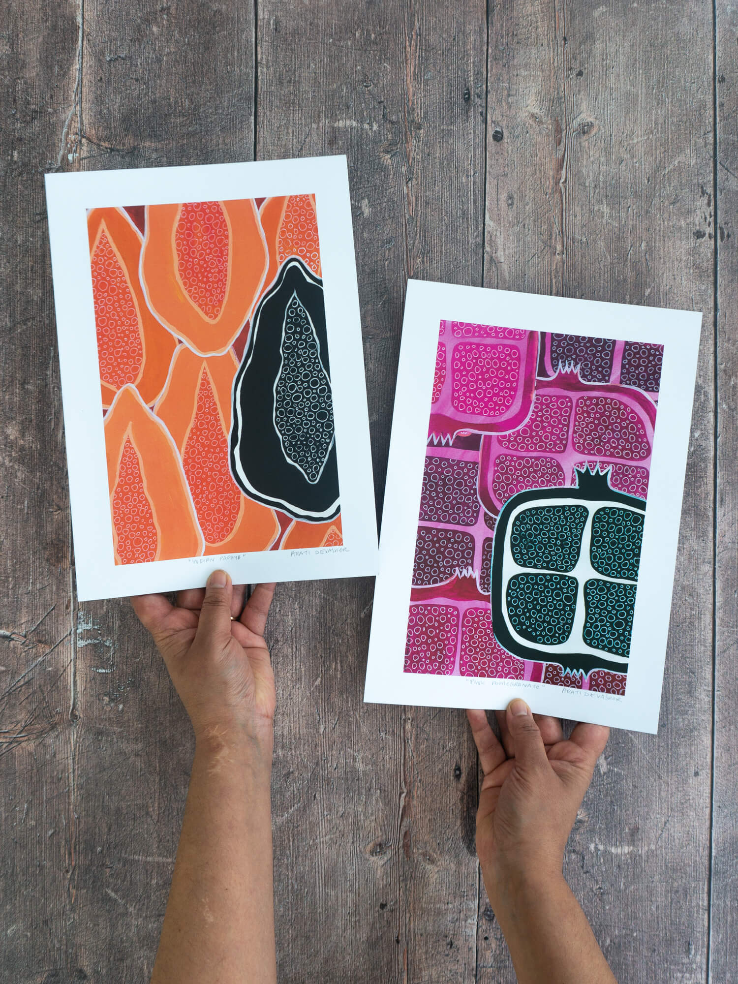 Tropical Fruits (set of 2) – art prints