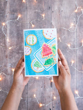 Load image into Gallery viewer, Festive Cookies – card with envelope