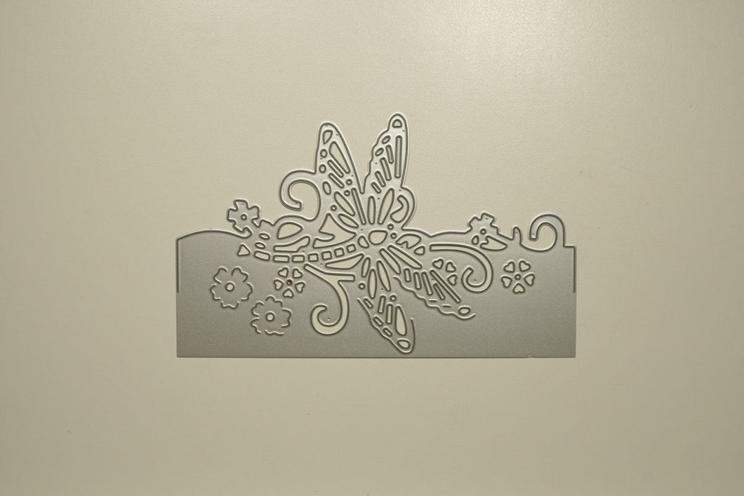 3D Dragonfly Stencil Metal Cutting Die