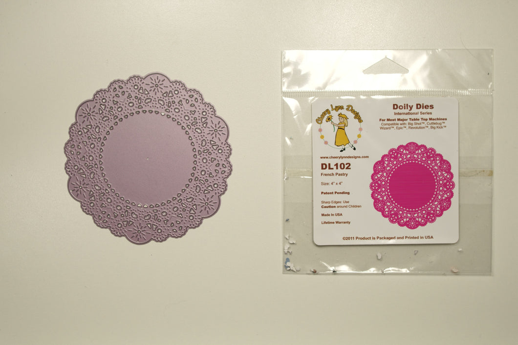 DL102 French Pastry Doily