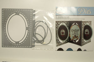 #772 Accordion Oval card