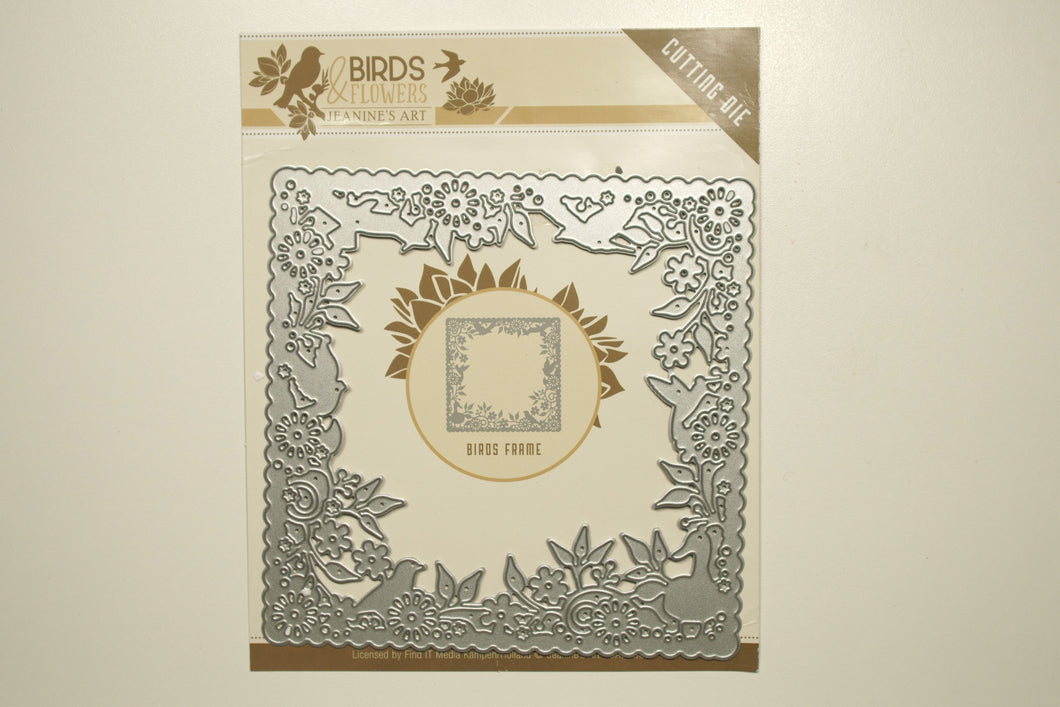 Birds & Flowers Frame