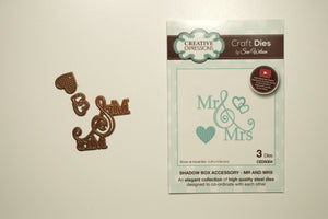 Shadow Boxes-Mr & Mrs