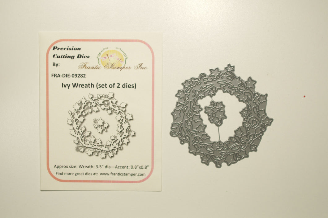 Ivy Wreath set DIE-09282