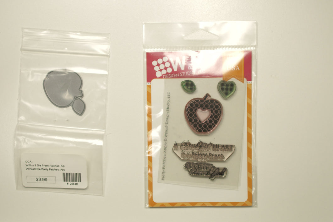 Pretty Patches-Apple Stamp & Die set