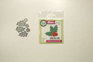 DIE484-C Patchwork holly