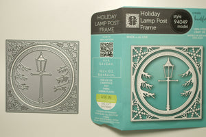 Holiday Lamp Post Frame  #94049