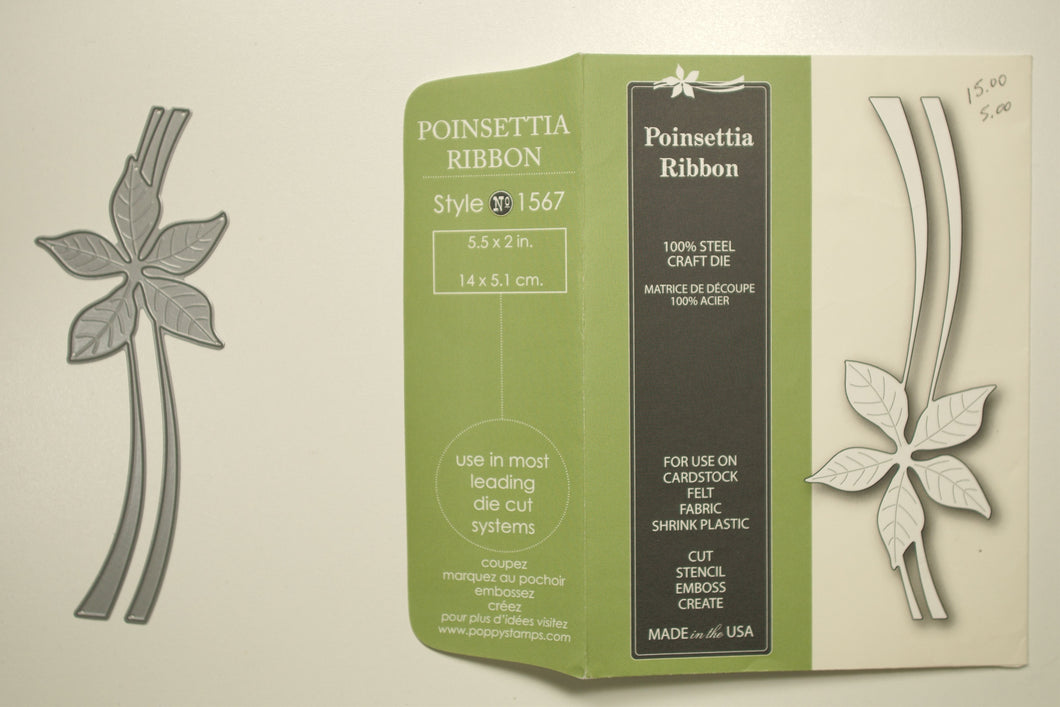 Poinsettia Ribbon #1567