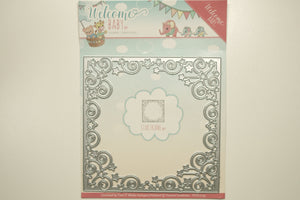 Welcome Baby Star Frame