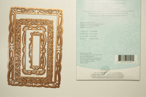 Spellbinders Romantic Rectangles Two