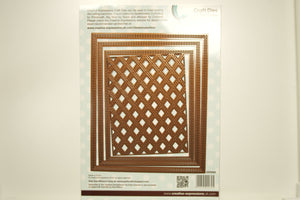 Creative Expressions Stitched Lattice Frames Set
