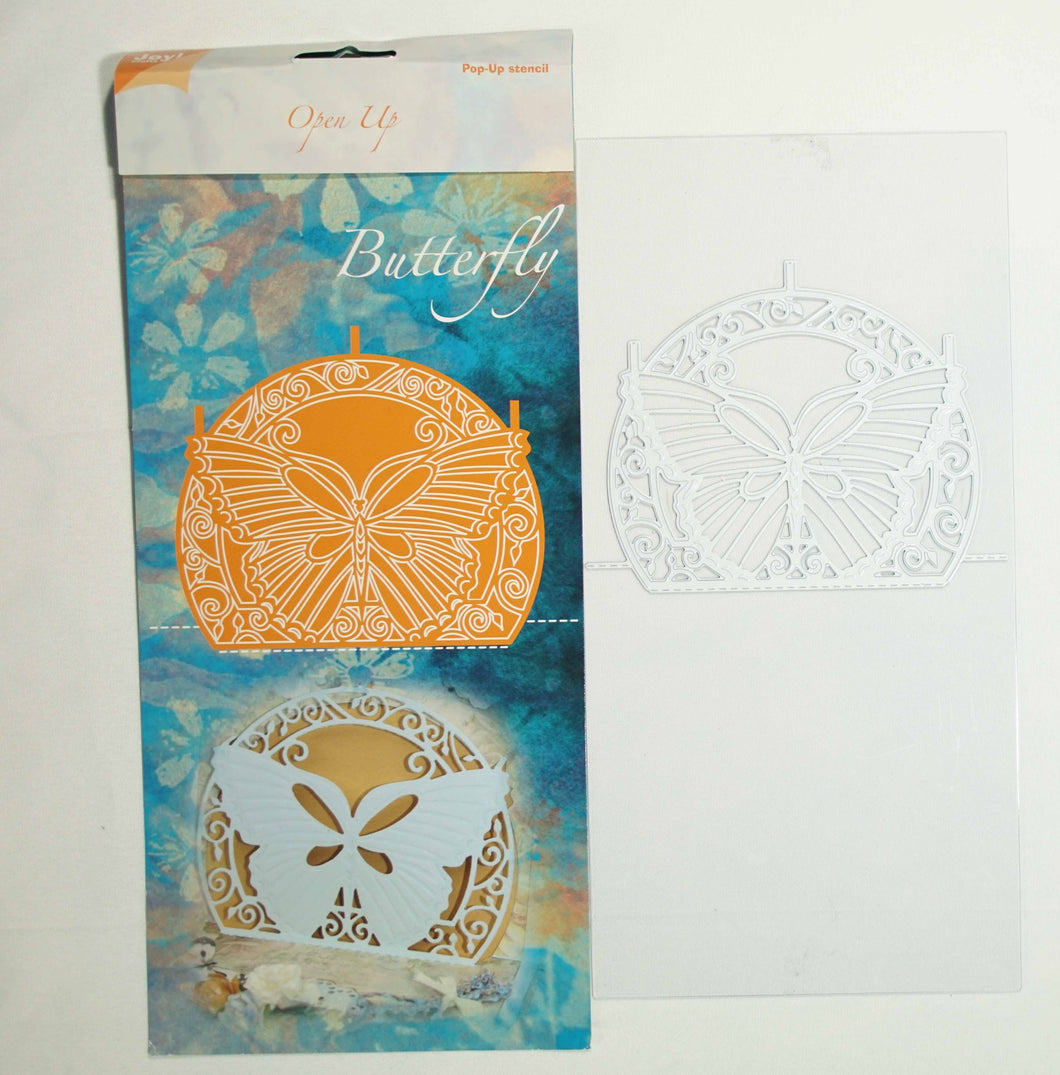 Open up cutting folder butterfly #6003/2014