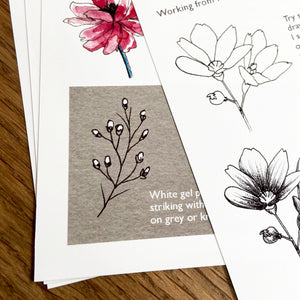 Creative Club Minis Fineliner Explorer: Florals