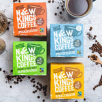 Selection of our Fairtrade and Organic Coffees