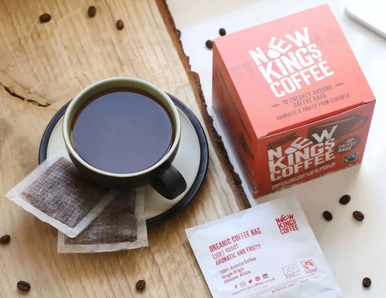 New Kings Coffee Bags Indugent Dark Roast
