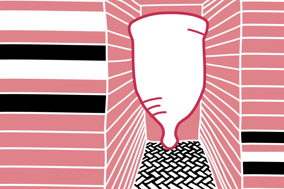 Picture of Menstrual Cup, cover photo for blog post