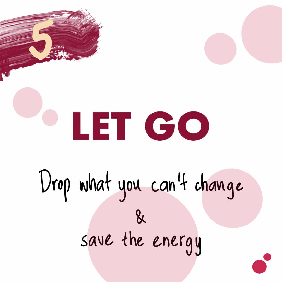 self care let go