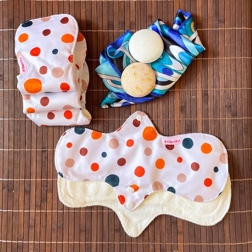 Affordable Reusable Cloth Period Pads