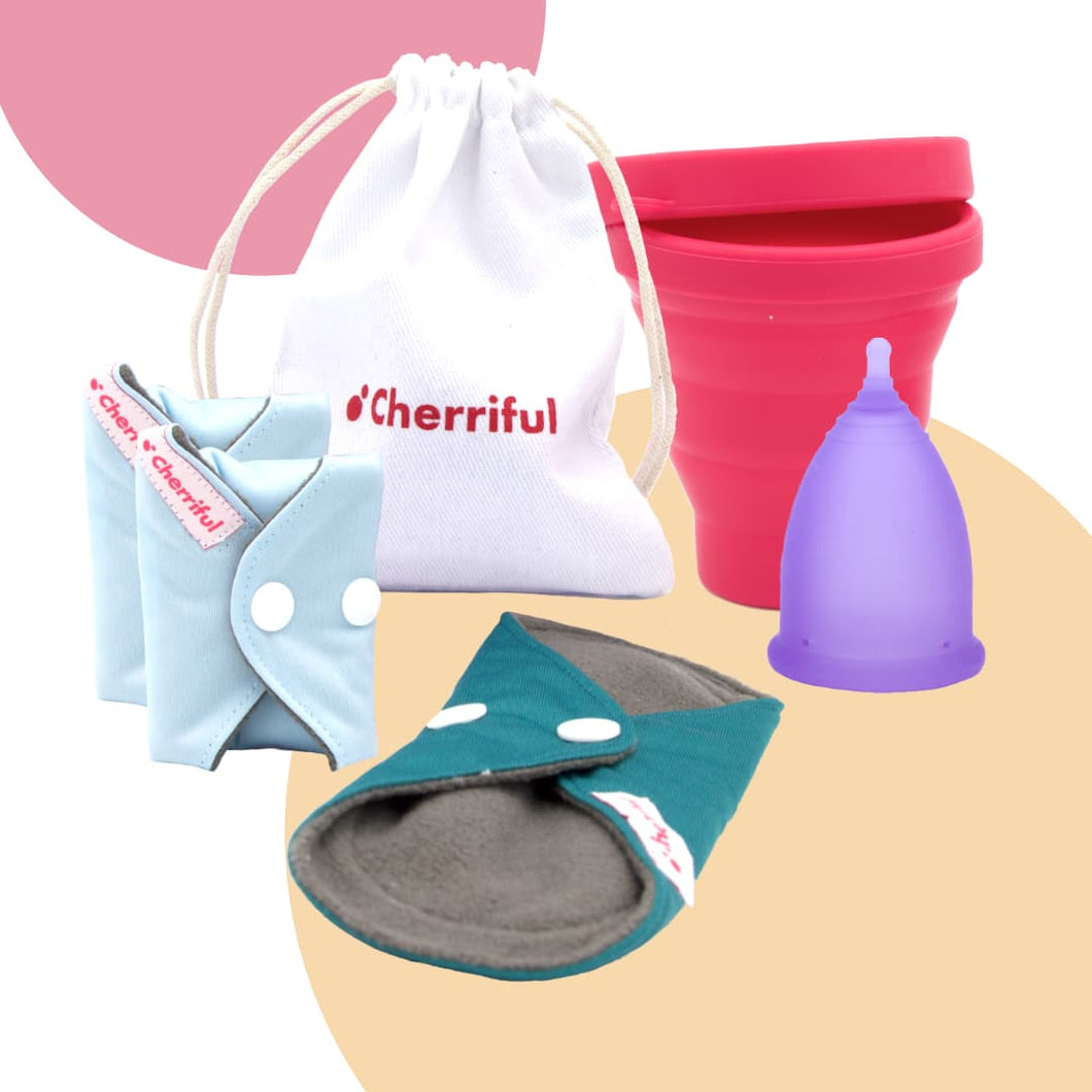 Cherriful Period Cup Starter Kit