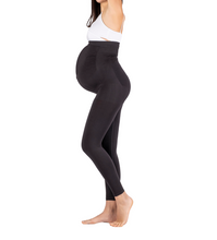 Load image into Gallery viewer, Maternity Leggings - Belly Support built-in