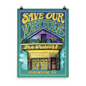 Poster Save Our Venues