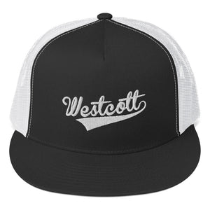 Trucker Cap Black and White