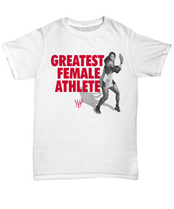 Serena Williams Greatest Athlete Ever Shirt