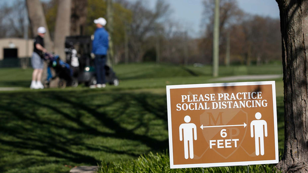 The golf industry hopes that built-in social distancing can draw new participants