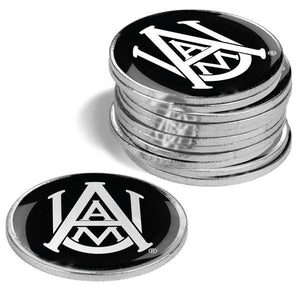 Alabama A&M Bulldogs - 12 Pack Ball Markers - Linkswalkerdirect