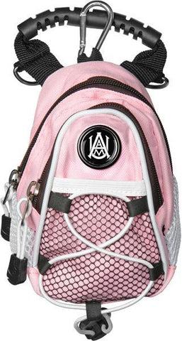 Alabama A&M Bulldogs - Mini Day Pack  -  Pink - Linkswalkerdirect