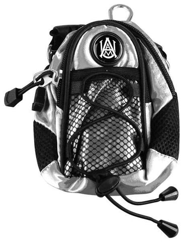 Alabama A&M Bulldogs - Mini Day Pack  -  Silver - Linkswalkerdirect