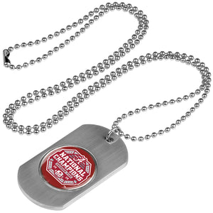 Alabama Crimson Tide National Championship - Dog Tag