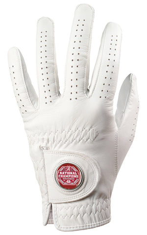 Alabama Crimson Tide National Championship - Cabretta Leather Golf Glove