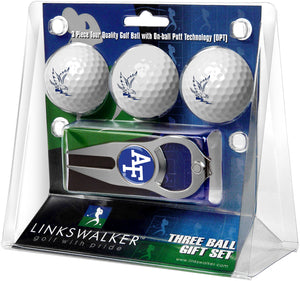 Air Force Falcons - 3 Ball Gift Pack with Hat Trick Divot Tool - Linkswalkerdirect
